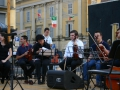 I violini quasi al completo