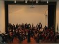 Le due orchestre riunite