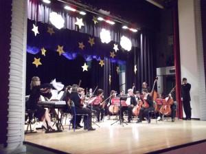 Concerto di debutto dell'Orchestra Junior a Suisio nel 2013