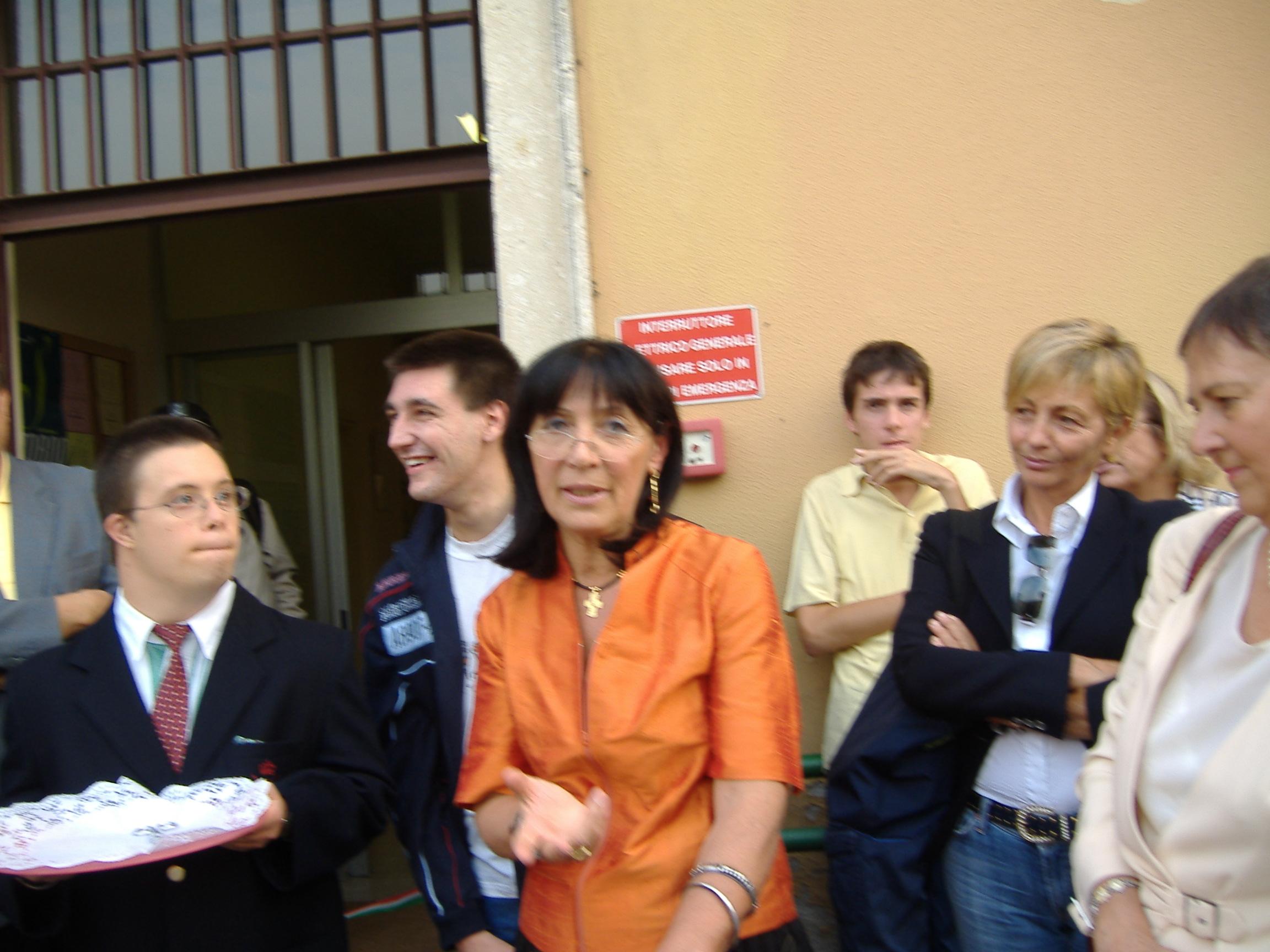 Inaugurazione sede di san Colombano, 2005