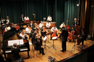 L'Orchestra Junior in sala Greppi nel 2013