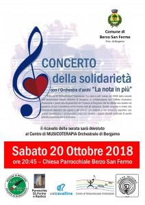 Locandina Concerto Berzo san Fermo