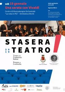 Locandina Concerto Orch archi a Romano